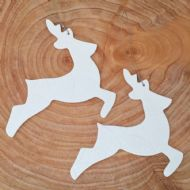 Ruth Fairhead - Hanging Reindeer Decorations